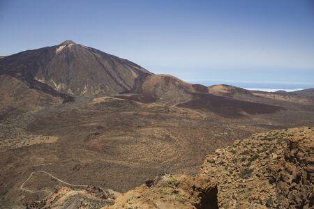 Teide Volcano national park, Tenerife, Canary Islands, Spain.