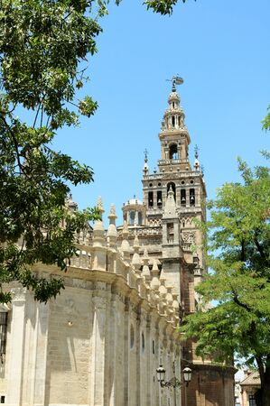 Giralda cathedral, Andalusia, Spain.
