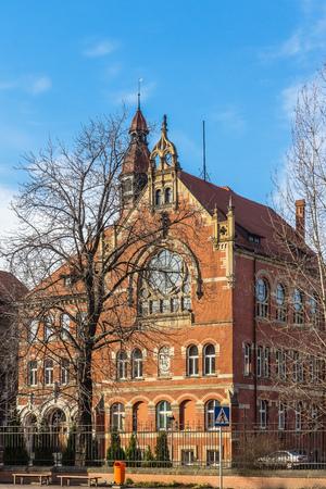 eclecticism: Adam Mickiewicz High School in Katowice, Poland.