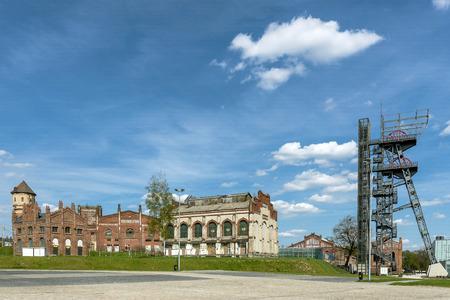 mine site: Area of former hard coal mine in Katowice, Silesia region, Poland.
