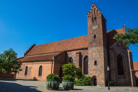 hallowed: The Monastery Klosteret  in Ystad, founded in 1267,  the oldest  monastery in Sweden.  Hallowed for St.Peter, nowadays serves as both church and a museum.