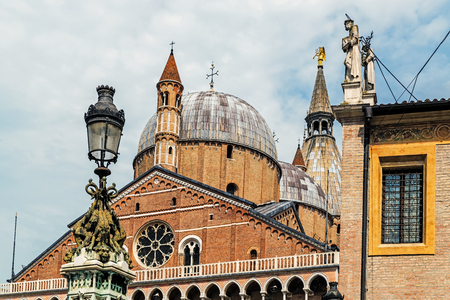 The Pontifical Basilica of Saint Anthony of Padua, a Roman Catholic church and minor basilica in Padua, a place of pilgrimage by people from all over the world.