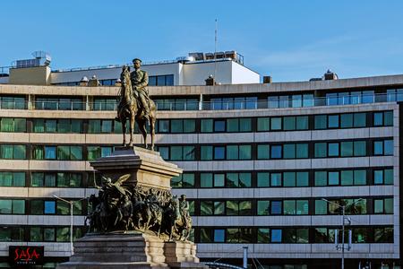 SOFIA, BULGARIA – MAY 30, 2017: Monument to Russian Tsar Alexander II, called locally