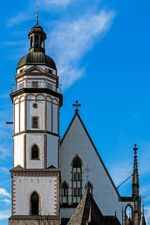 St. Thomas Church, a Lutheran church in Leipzig, Germany.