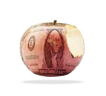 holiday profits: dollar money isolated
