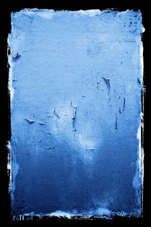 Peeling Textured Grunge Background with black border Stock Photo - 472037