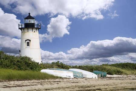 A light house in Edgartown, Marthas Vineyard