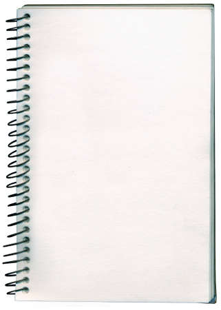 A spiral bound notepade  sketch book. Add your own hand writen note or message.