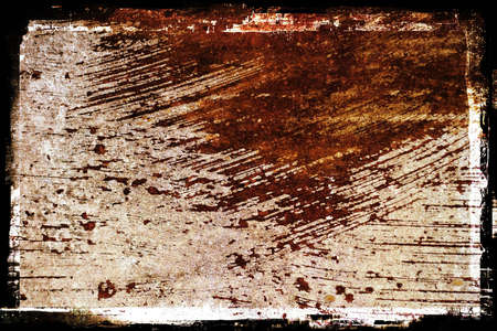 A rusty painted metal grunge textured background. Stock Photo
