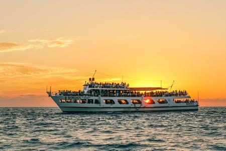 Boat at Acapulco Bay