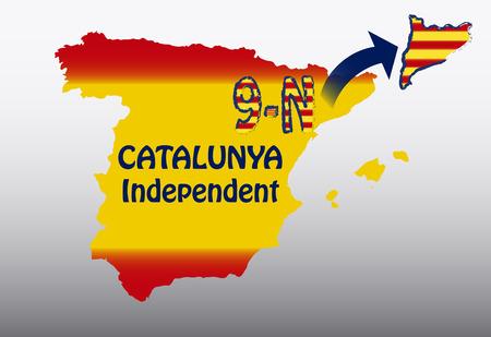 catalonia: Catalonia November 9 Illustration