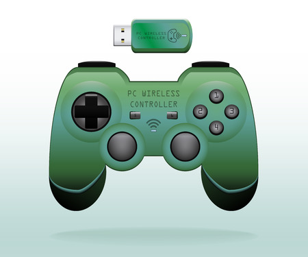 controller: PC Wireless Controller Illustration