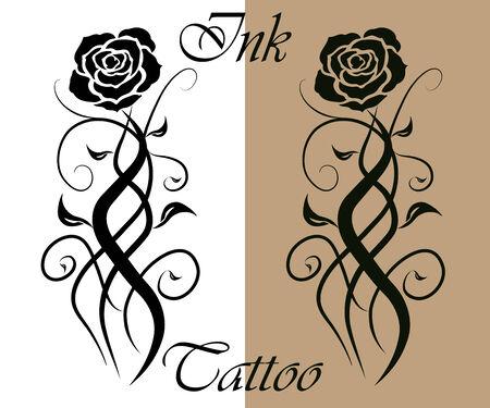 Encre de tatouage Banque d'images - 34751740