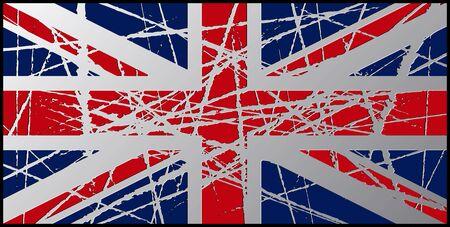 worn: Worn UK Flag 3D