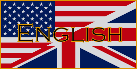 speak english: English Flags
