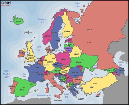 유럽 정치지도