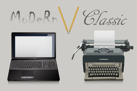 writing desk: Classical and Modern Writing