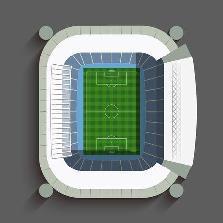soccer stadium: Madrid Soccer Stadium
