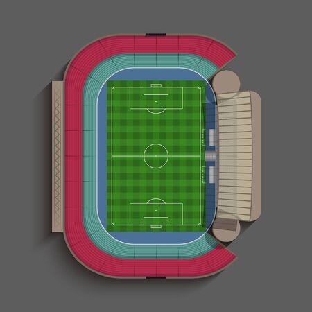 soccer stadium: Generic Soccer Stadium