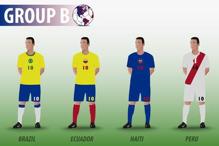 group b: American Soccer Group B