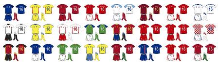 kits: Generic Kits National Teams of Europe