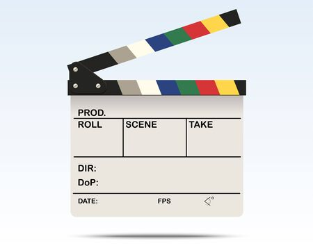 directors cut: White Clapperboard