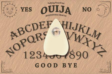 The Ouija board Illustration