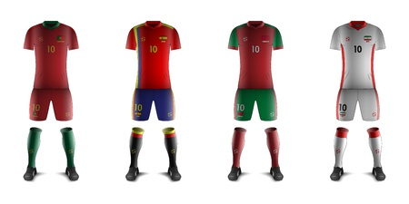 Generic Kits of Soccer National Teams Çizim
