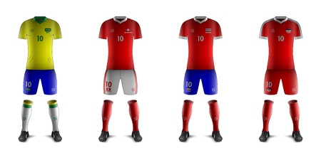 Generic Kits of Soccer National Teams E