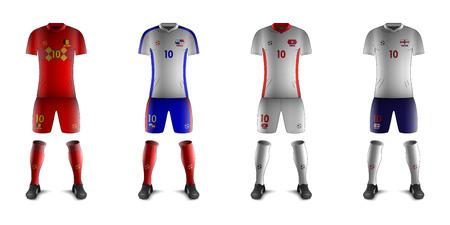 Generic Kits of Soccer National Teams G