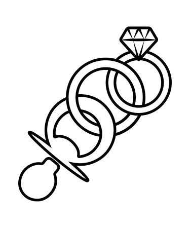 Symbol of Rings with Pacifier