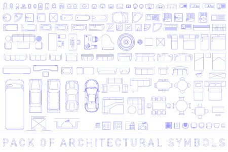Pack of Architectural Symbols