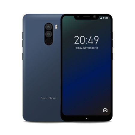 Smartphone with Notch Display