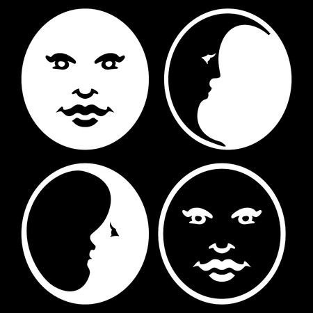 Symbol of the Moon Phases