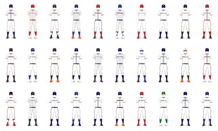 American Cities Baseball Generic Uniforms