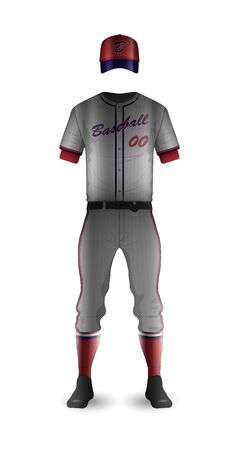 Baseball Uniform Template 3D