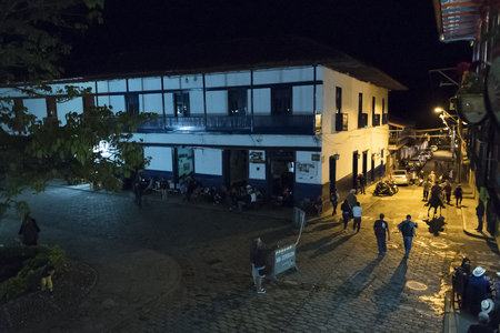 antioquia: Village of Jardin in Antioquia, Colombia Editorial