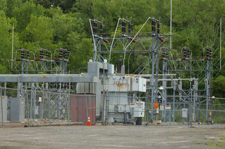 Electrical Transfer Station 版權商用圖片