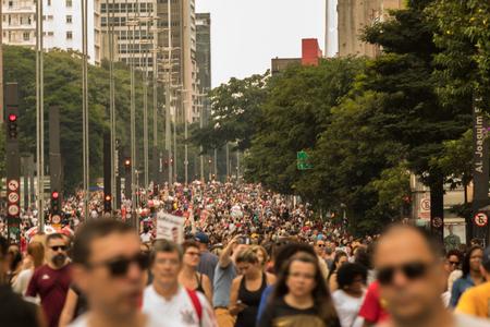 Paulista Avenue - The Main Tourist Attraction in Sao Paulo, Brazil