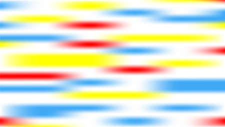 Vector illustration of an abstract background of blue, red, yellow, white. Cavities with blurred edges.