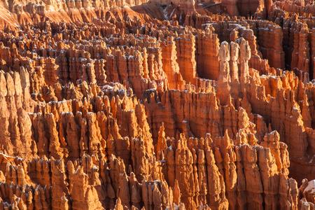 hoodoos: HooDoos at Bryce Canyon National Park, Utah Stock Photo