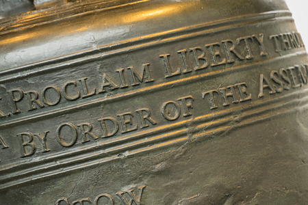 liberty bell: Focus on Proclaim Liberty on the Liberty Bell in Philadelphia, Pennsylvania