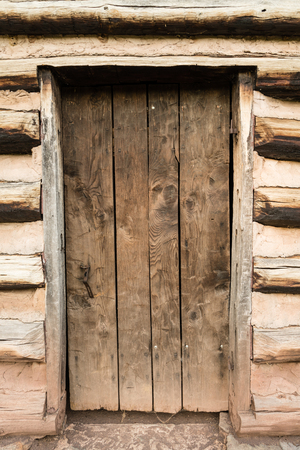 forge: Cabin door at Valley Forge National Historic Park