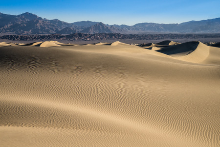 stovepipe: The Mesquite Dunes are located in the Stovepipe Wells area of Death Valley National Park in California.