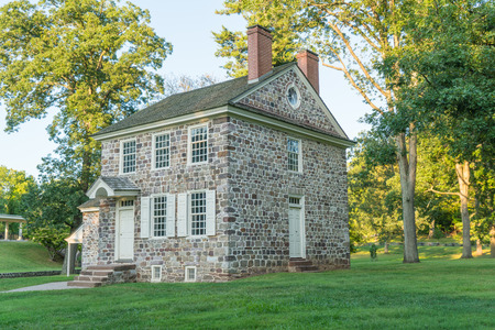 headquarters: George Washingtons Headquarters in Valley Forge National Historic Park, Pennsylvania Editorial