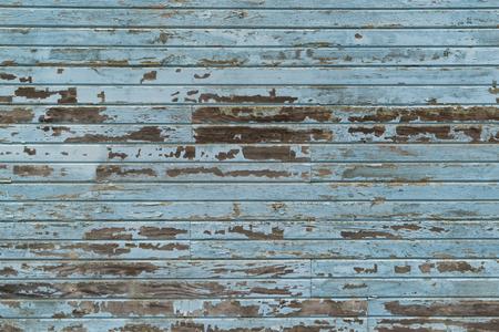 siding: Weathered blue horizontal barn wood siding background Stock Photo