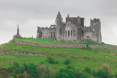 The Rock of Cashel, ook bekend als St. Patrick's Rock, gelegen in County Tipperary, Ierland Stockfoto