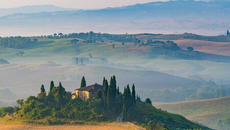 pienza: Tuscan villa near Pienza Italy