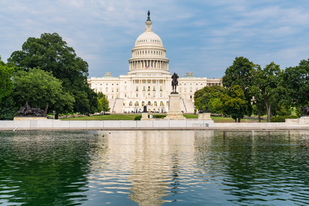 United States Capitol Building in Washington, DC Imagens