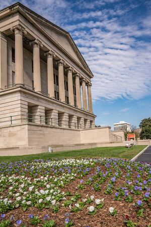 Tennessee State Capital Building in Nashville, Tennessee Stock Photo